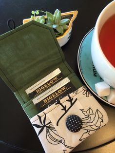 Tea for Two or Just for You! Free Tea Wallet Tutorial and Pattern!