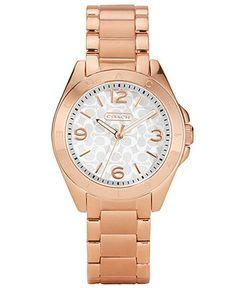 COACH TRISTEN BRACELET WATCH - Women's Watches - Jewelry & Watches - Macy's