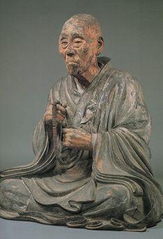 俊乗房重源上人坐像 Art Zen, Japanese Buddhism, Traditional Japanese Art, Japanese Folklore, Art Japonais, Terracota, Tibet, Buddhist Art, Chinese Art