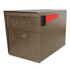 Ultimate High Security Locking Mailbox in Bronze Copper