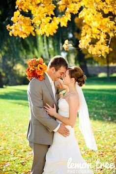 Love her bouquet - Gorgeous Fall Wedding Photography Scenic View Country Club Slinger
