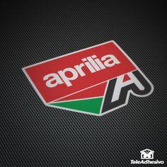 Pegatina Aprilia logo #aprilia #pegatina #adhesivo #tuning #moto #TeleAdhesivo