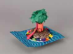 Make an island- maybe for our Swiss Family Robinson unit study