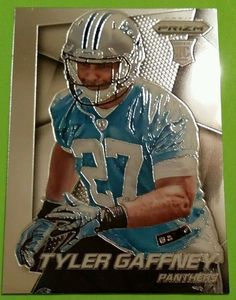 2014 Prizm RC Tyler Gaffney Card #271 Carolina Panthers MINT FROM PACK #PANTHERS