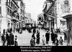 Eleftherias Square about 1915 - 1916 THESSALONIKI MACEDONIA