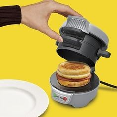 Breakfast sandwich maker | 17 Genius Breakfast Inventions That Will Change Your Life
