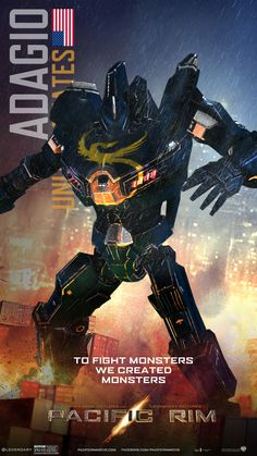 """Her name is Adagio"" Pacific Rim Jaeger"