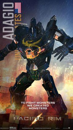 """""""Her name is Adagio"""" Pacific Rim Jaeger"""