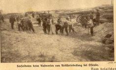 14/11/1914 Oudekapelle ligt onder vuur - De Groote Oorlog Dag op Dag - Geschiedenis - KW.be - Nieuws uit West-Vlaanderen