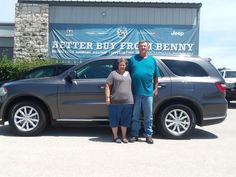 Cool Dodge 2017: Awesome! Congratulations to Jimmy & Lydia on your new 2014 Dodge Durango!  T... Benny Boyd Marble Falls Check more at http://carboard.pro/Cars-Gallery/2017/dodge-2017-awesome-congratulations-to-jimmy-lydia-on-your-new-2014-dodge-durango-t-benny-boyd-marble-falls/