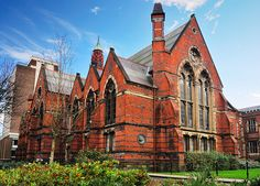 QUB - the Old Library - I spent so much time in this place!
