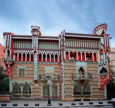Casa Vicens    Barcelona - Built in the period 1883-1889, UNESCO World Heritage - Gaudí works