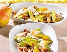 Birnen-Avocado-Carpaccio - Rezept - ichkoche.at