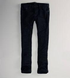 Skinny Jean but not black. EWWWWWW