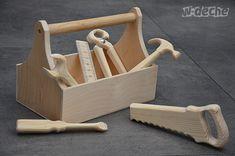Holzspielzeug   Werkzeugkasten , Eco Spielzeug   Ein Designerstück Von  W Deche Bei DaWanda