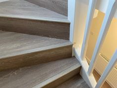 Karndean Design flooring UK Opus laid to a whole house by Elliot and Ben. Finished with Quick-Step nosings on the stairs. 👍 #karndean #quickstep #flooring #flooringshop #WeAreOpen