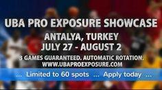Playing basketball in Turkey - UBA Pro Exposure Showcase