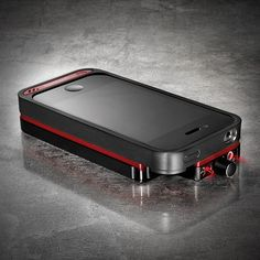 Amplify your inner audiophile and make your iPhone unique via VAMP. V-MODA's headphone AMP, DAC, metal casing and battery pack transforms the iPhone 4/4S into the ultimate spy-worthy gadget. The VAMP incorporates a 150mW x 2 amplifier that delivers optimal power to drive even the most power-hungry headphones and pure audio clarity for headphones of all sizes.