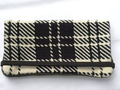Upcycled upholstery fabric wallet $25.00