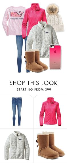 """Layers and Layers"" by katie-1111 ❤ liked on Polyvore featuring 3x1, Vineyard Vines, The North Face, Patagonia, UGG and Casetify"