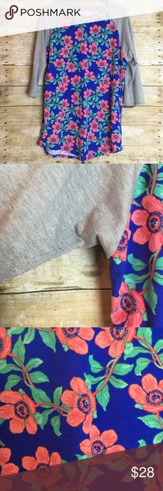 Used Condition LuLaRoe Randy. Used Condition LuLaRoe Randy size XL. Worn 3 times. Piling under arms. Washed per instructions. LuLaRoe Tops Tees - Long Sleeve