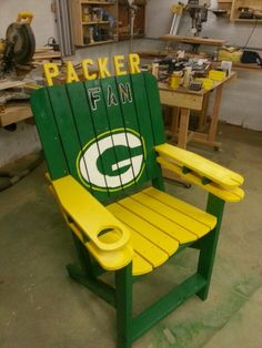 Packer Chair Done.