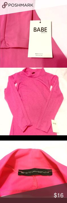 NEW! Babe Society Body Con Dress Never worn bright pink fitted and stretchy dress. Featuring cut out under arms and back. Babe Society Dresses Backless