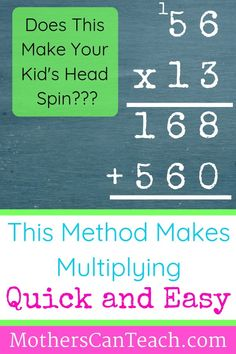 Does multiplying 2 and 3-digit numbers giver you child a headache? The Lattice Method may be the answer. Learn the benefits of this alternative method plus download a free guide to help you, and your child, learn this quick and easy method for multiplying large numbers! Stop the tears and check out the Lattice Method for Multiplication today! #homeschool #multiplication #motherscanteach Multiplication Tricks, Reading Assessment, Common Core Math, Anchor Charts, Teaching Math, Daughters, Life Lessons, Homeschooling, Curriculum