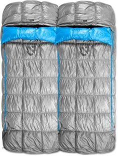 Snuggle up with your tentmate on those cold night with the NEMO Strato Loft Sleeping Bag