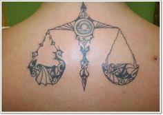 29 Tatouage du signe de la balance en astrologie - 6