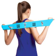 "RESISTOR STRIP Restore strength and improve flexibility with Resistor Strip™ – the only exercise band to offer high quality digital imprint of photo quality images! The large imprint area offers a huge platform to include multiple logos, photography and big messages. Each band is latex free and can provide a user with an uncomplicated workout option outside the gym.  3.5' L x 3"" W"