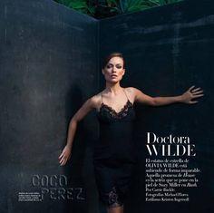 Olivia Wilde is at her femme fatale best in Harper's Bazaar Spain.