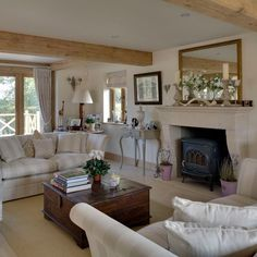 Drawing room | Be inspired by this rustic new-build house tour | housetohome.co.uk