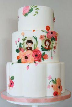 11 Tendências para bolo de casamento em 2013