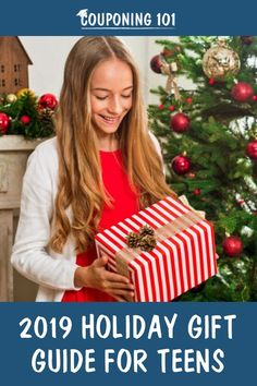 Our holiday gift guide for teens can help point you in the right direction! Holiday Deals, Holiday Gift Guide, Couponing 101, Christmas Wreaths, Christmas Ornaments, Gifts For Teens, Holiday Gifts, Creative, Crafts
