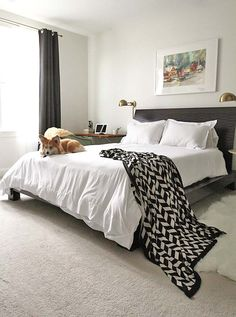 """""""After"""" Boutique Hotel Inspired Bedroom Makeover   Frock Files"""