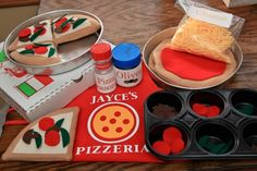 Felt Play Pizza :)