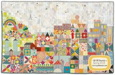 Wendy's quilts and more: My Small World - Part 1