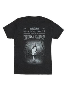 Look what I found from Out of Print! Miss Peregrine's Home for Peculiar Children Men's Tee – Out of Print #OutofPrintClothing
