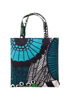 Siirtolapuutarha bag. I love this print too.