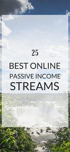 25 best online passive income ideas