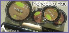 http://www.fashiondupes.com/2014/01/25-bio-dupes-mondebio-haul.html #bio #dupes #biodupes #beauty #makeup #eco #mondebio #haul