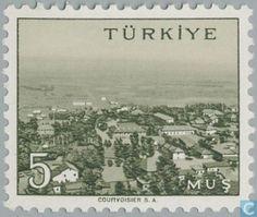 Postage Stamps - Turkey - Muş