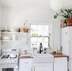 111 Eclectic Kitchen Design, Ideas, Remodel, and Decor For Your Home Kitchen Sink Design, Farmhouse Sink Kitchen, Kitchen Decor, Eclectic Kitchen, Kitchen Ideas, Rustic Kitchen, Farmhouse Decor, Kitchen Layout, Kitchen Backsplash