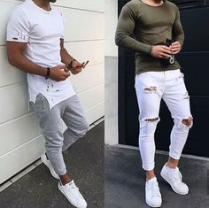 Choose Left or Right? Pick One & Leave a Comment - by trend trendy top fashion design beauty Suit Fashion, Mens Fashion, Fashion Guide, Daily Fashion, Outfits Hombre, Velvet Slippers, Street Style Trends, Trendy Tops, London Fashion