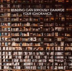#books #reading #library #education #ignorance #words #school