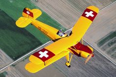 Bücker Bü-131B Jungmann AMPA Lausanne