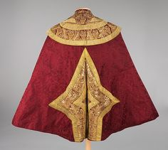 Toreador cape (image 2) | Spanish | Department Store: Alejandro Velasco | fourth quarter 19th century | silk, metallic, glass, cotton | Brooklyn Museum Costume Collection at The Metropolitan Museum of Art