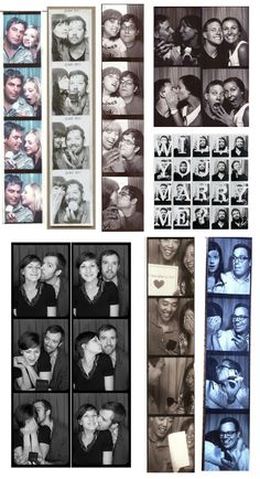 The invention of the photo booth. | The 50 Most Romantic Things That Ever Happened