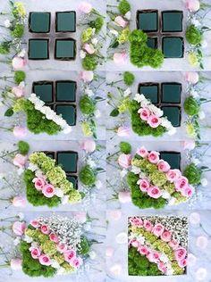 valentinstag ideen diy dekoration blumen box anleitung – Rebel Without Applause Flower Box Gift, Flower Boxes, Diy Flowers, Wedding Flowers, Potted Flowers, Wedding Bouquets, Deco Floral, Arte Floral, Floral Design